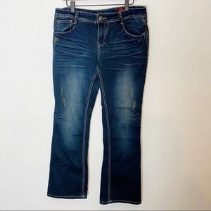 Red Label   Kylie Bling Flare Jeans